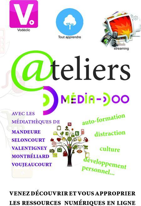 Affiche atelier média-doo