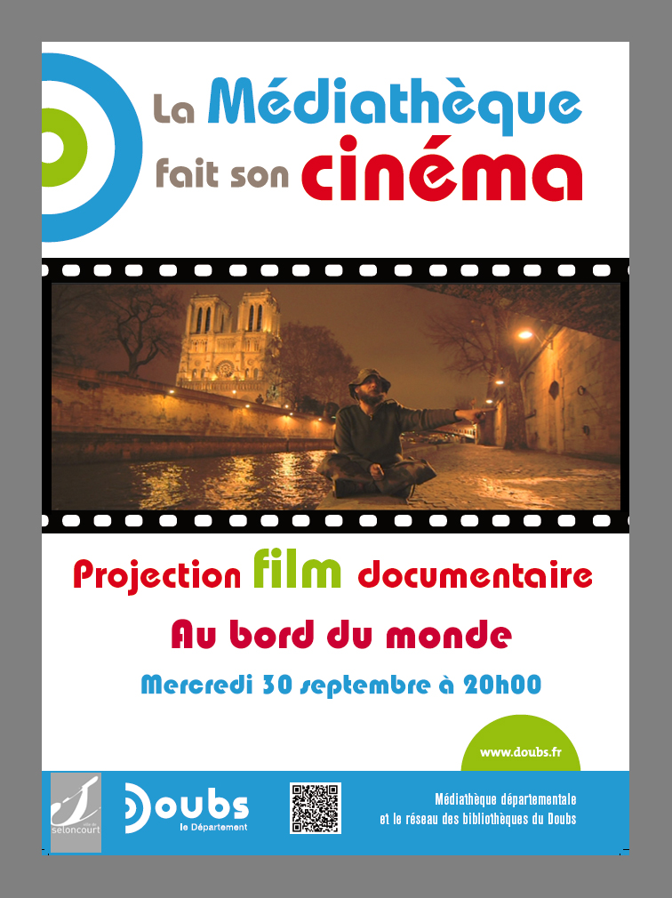Projection documentaire Au bord du monde