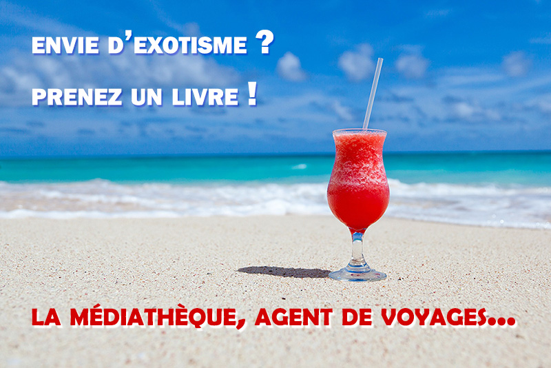 Image cocktail sur plage