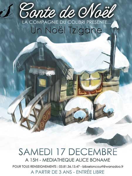Affiche conte de nNoël 2016