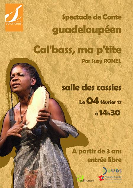 Affichette conte Cal'bass