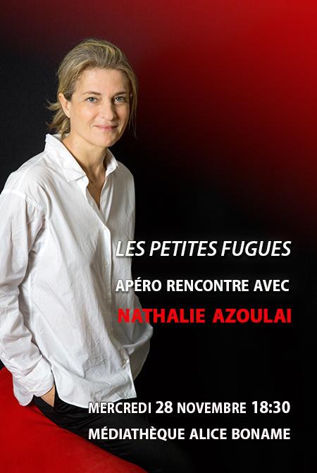 Nathalie Azoulai. Crédit photo : Hélène Bamberger